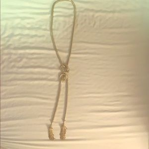 Kendra Scott Knotted Gold Necklace